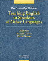 Jacket image for the title 'The Cambridge Guide to Teaching English to Speakers of Other Languages