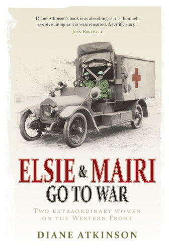 Jacket image for the title 'Elsie and Mairi go to war