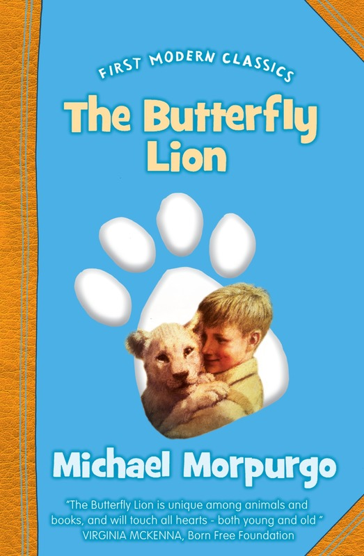 Jacket image for the title 'The butterfly lion'