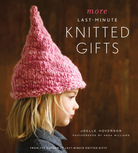 Jacket image for the title 'More last-minute knitted gifts