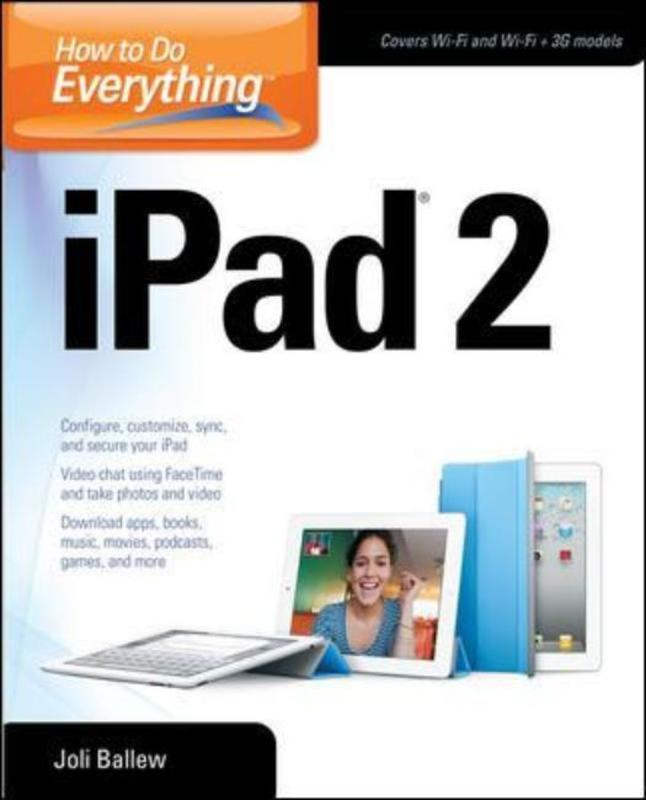 Jacket image for the title 'How to do everything iPad 2'