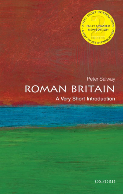 Jacket image for the title 'Roman Britain: A Very Short Introduction'