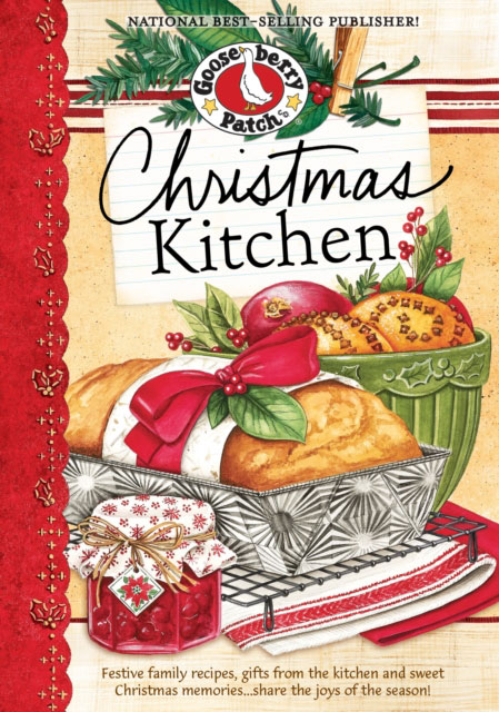 Jacket image for the title 'Christmas Kitchen Cookbook'