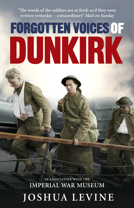 Jacket image for the title 'Forgotten voices of Dunkirk'