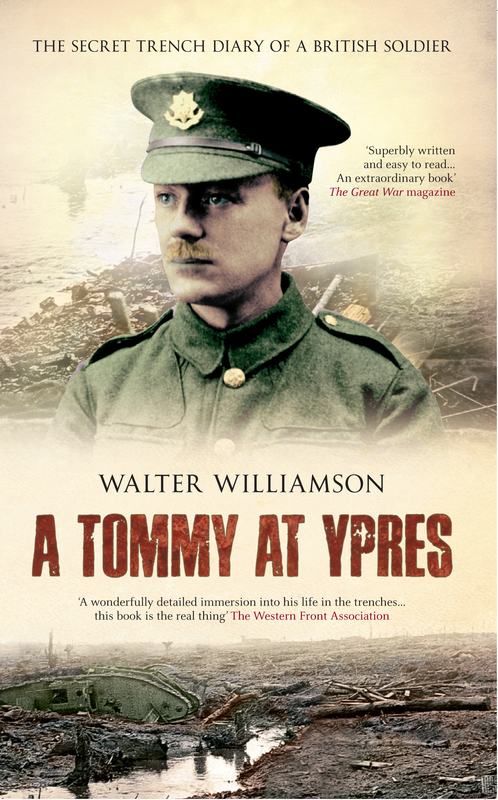 Jacket image for the title 'A Tommy at Ypres