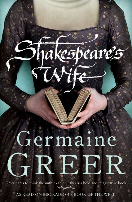 Jacket image for the title 'Shakespeare's wife'