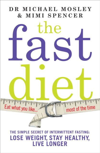Jacket image for the title 'The fast diet