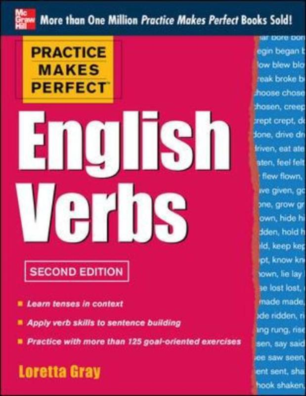 Jacket image for the title 'English verbs