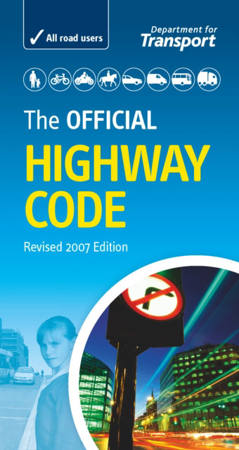 Jacket image for the title 'The official highway code