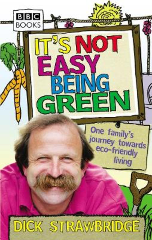 Jacket image for the title 'It's not easy being green