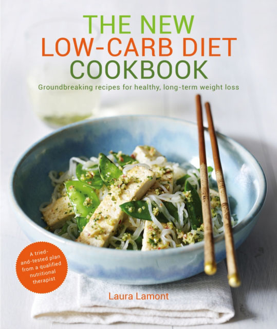 Jacket image for the title 'New Low-Carb Diet Cookbook