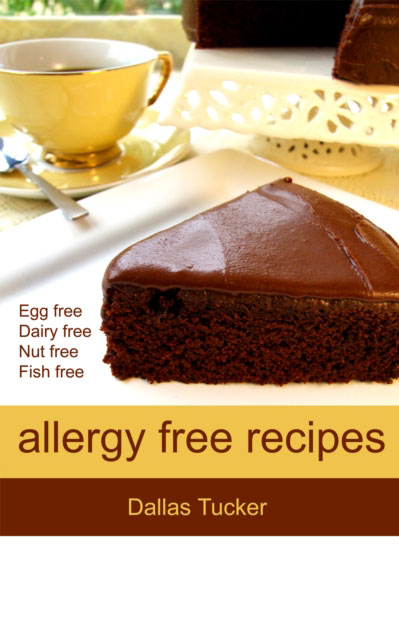 Jacket image for the title 'Allergy Free Recipes'