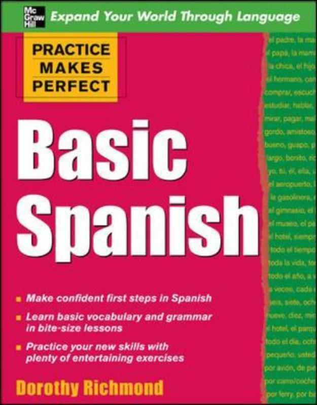 Jacket image for the title 'Basic Spanish