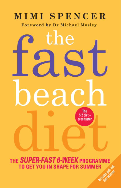 Jacket image for the title 'The fast beach diet