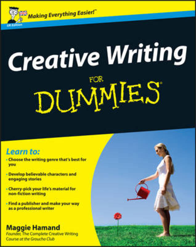 Jacket image for the title 'Creative writing for dummies
