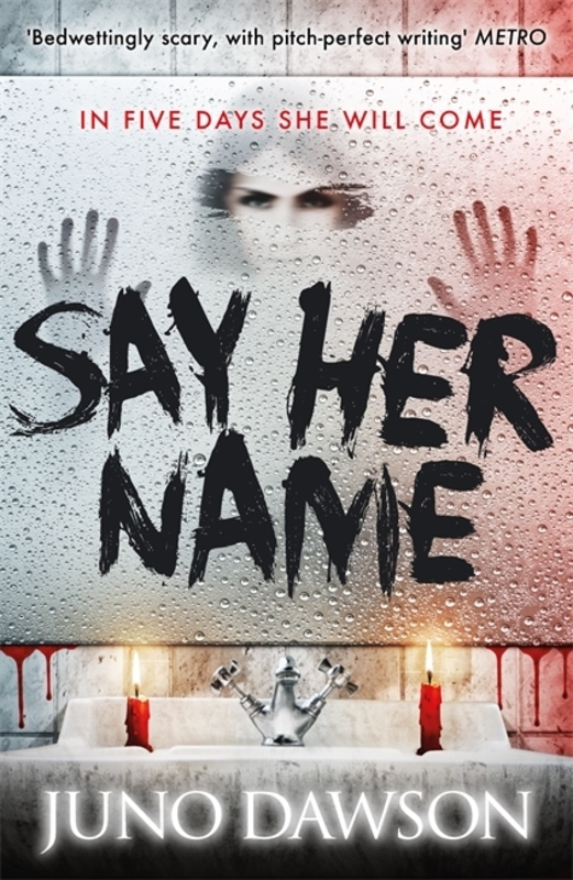 Jacket image for the title 'Say her name'