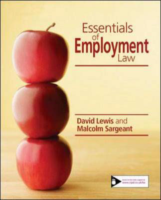 Jacket image for the title 'Essential employment law