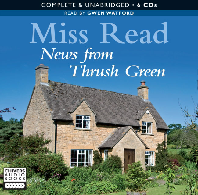 Jacket image for the title 'News from Thrush Green