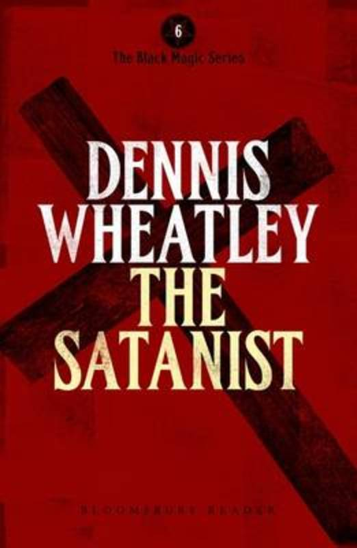Jacket image for the title 'The satanist