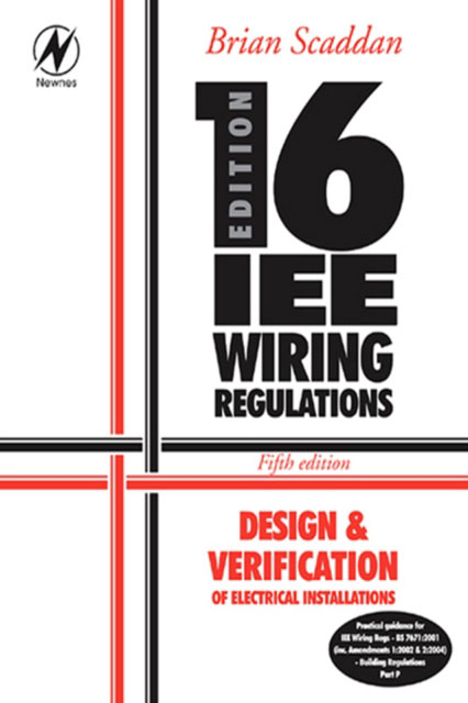 Jacket image for the title 'IEE 16th edition wiring regulations