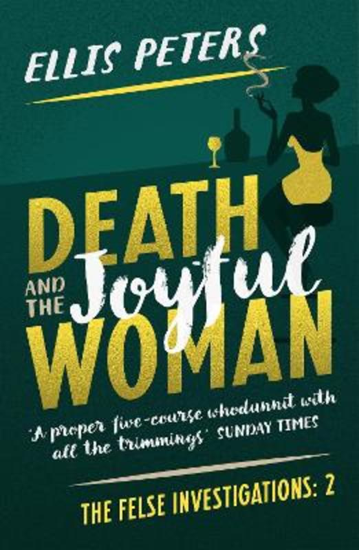 Jacket image for the title 'Death and the joyful woman'