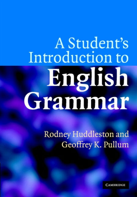 Jacket image for the title 'A student's introduction to English grammar'