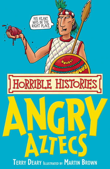 Jacket image for the title 'Angry Aztecs'