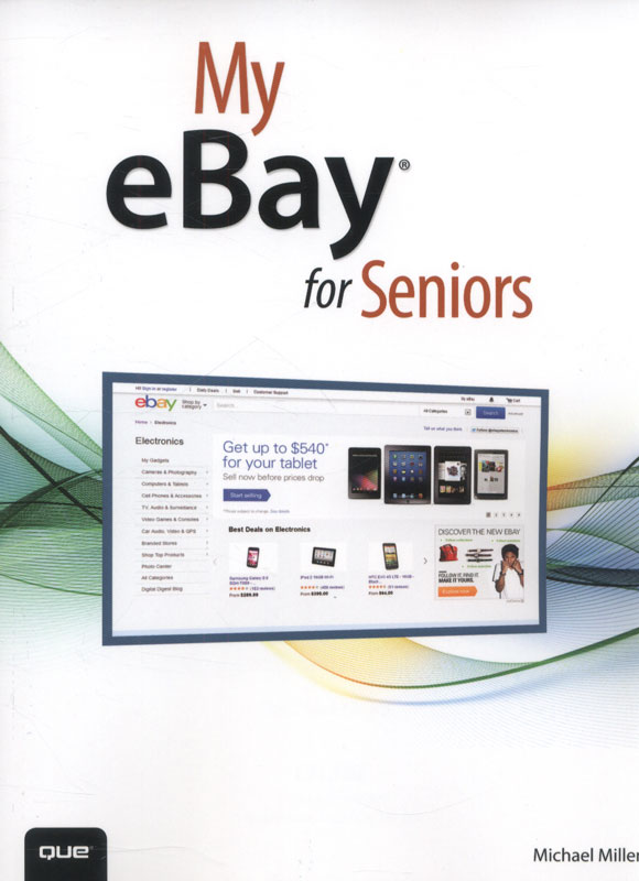 Jacket image for the title 'My eBay for seniors'