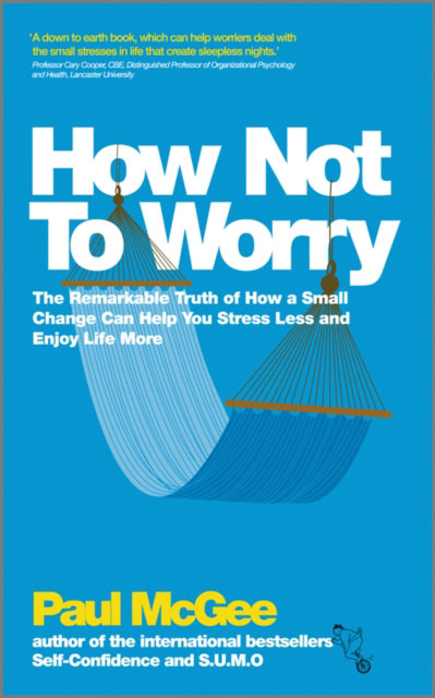 Jacket image for the title 'How not to worry'