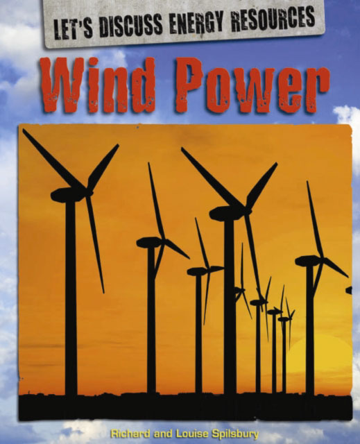 Jacket image for the title 'Wind power