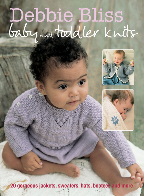 Jacket image for the title 'Debbie Bliss Baby & Toddler Knits'