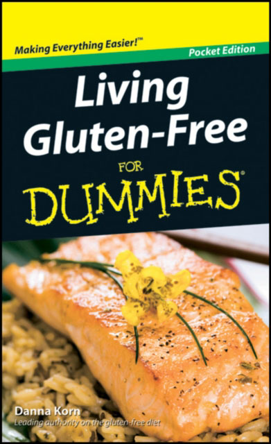 Jacket image for the title 'Living gluten-free for dummies.'