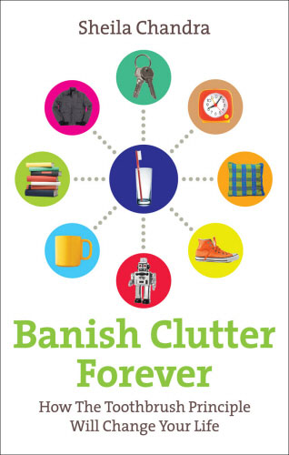 Jacket image for the title 'Banish clutter forever