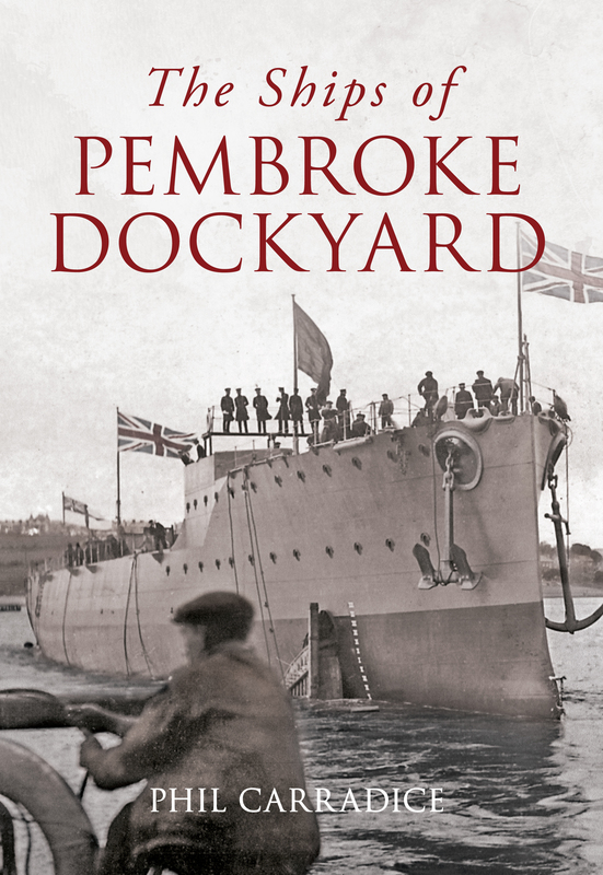 Jacket image for the title 'The Ships of Pembroke Dockyard