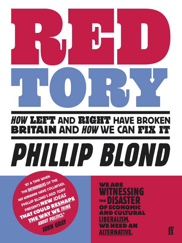 Jacket image for the title 'Red Tory'