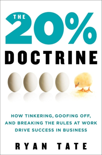 Jacket image for the title 'The 20% doctrine'