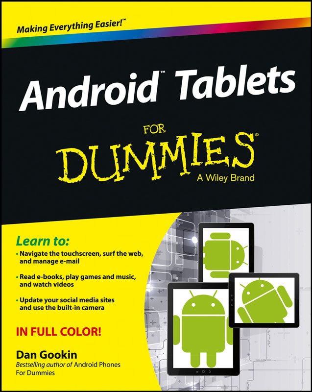 Jacket image for the title 'Android tablets for dummies