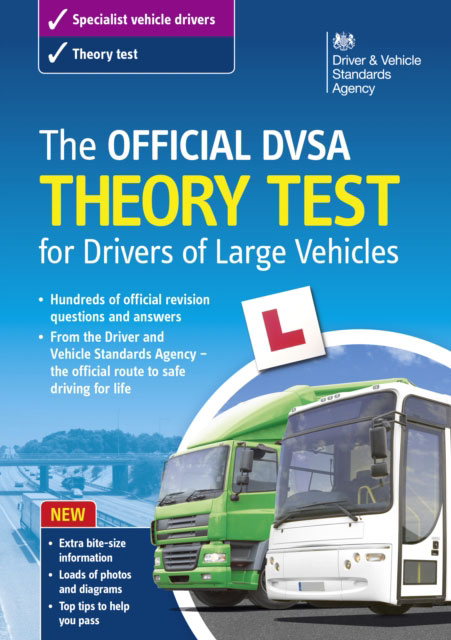 Jacket image for the title 'Official DVSA Theory Test for Drivers of Large Vehicles'