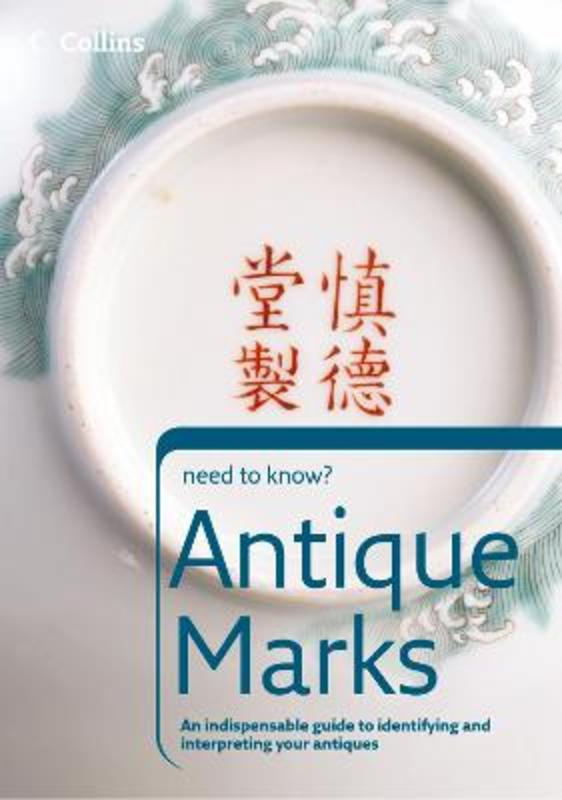 Jacket image for the title 'Antique marks'