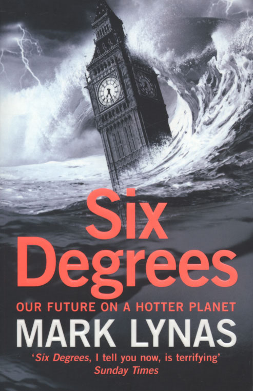Jacket image for the title 'Six degrees