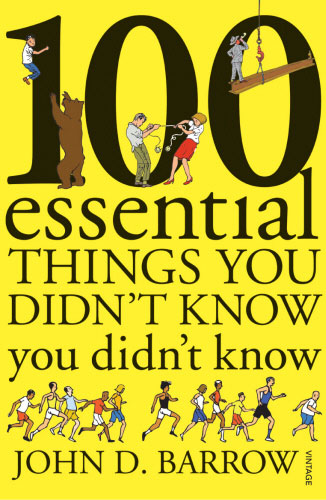 Jacket image for the title '100 essential things you didn't know you didn't know