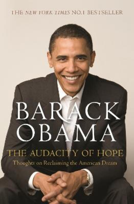 Jacket image for the title 'The audacity of hope