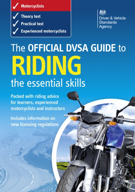 Jacket image for the title 'Official DVSA Guide to Riding - the essential skills'