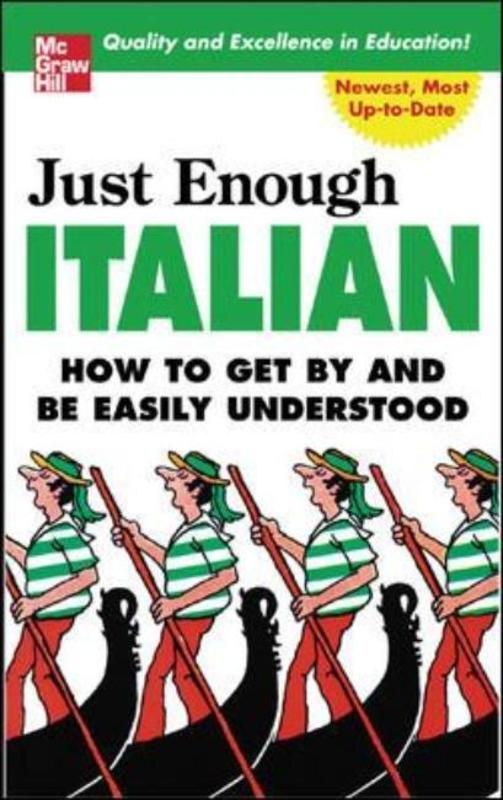 Jacket image for the title 'Just enough Italian'