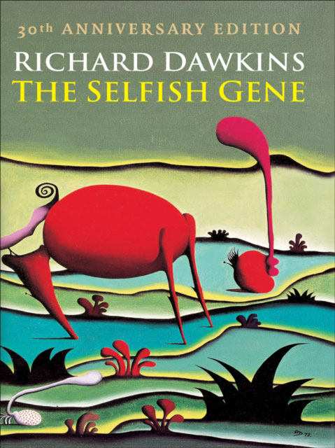 Jacket image for the title 'The selfish gene'