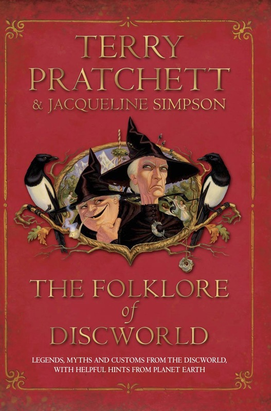 Jacket image for the title 'The folklore of Discworld