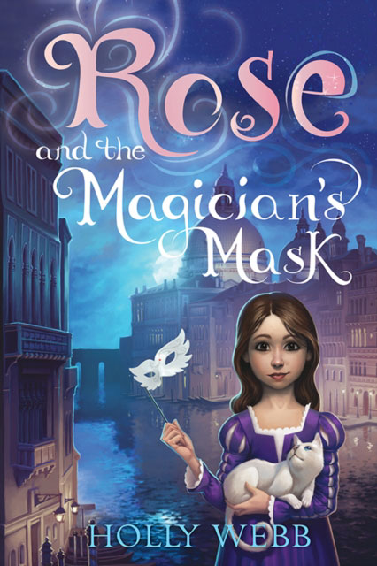 Jacket image for the title 'Rose and the Magician's Mask'