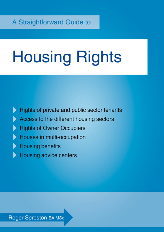 Jacket image for the title 'A guide to housing rights