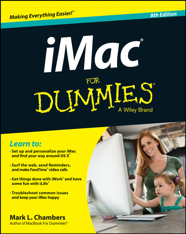 Jacket image for the title 'iMac for dummies