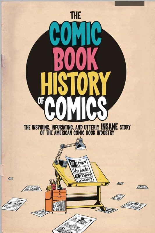 Jacket image for the title 'The comic book history of comics'